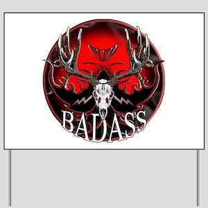 Club bad ass Yard Sign