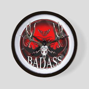 Club bad ass Wall Clock