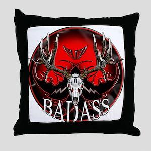Club bad ass Throw Pillow