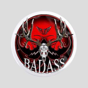 "Club bad ass 3.5"" Button"
