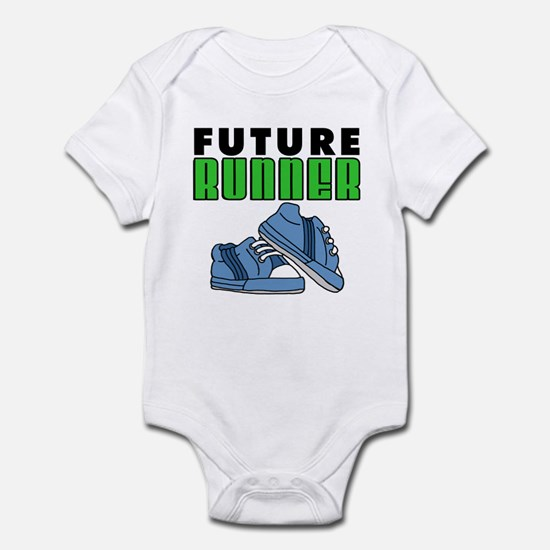 Future Runner Boy Infant Bodysuit