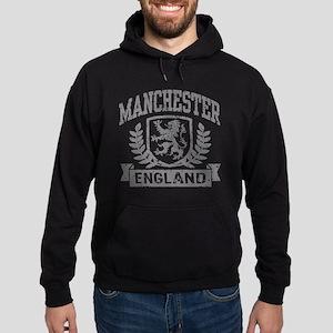 Manchester England Hoodie (dark)