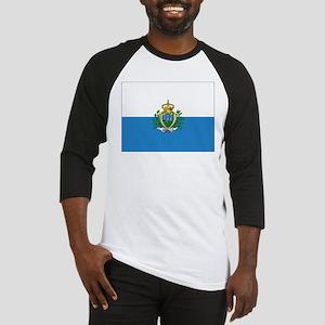 San Marino Flag Baseball Jersey