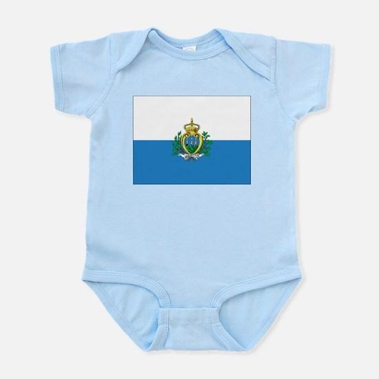 San Marino Flag Infant Creeper
