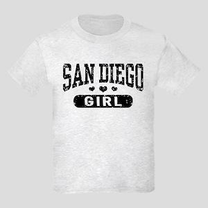 San Diego Girl Kids Light T-Shirt
