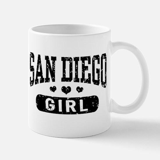 San Diego Girl Mug