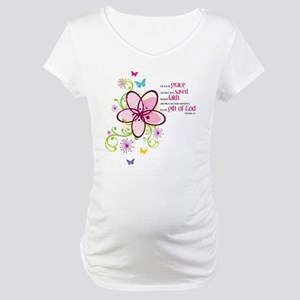 For it is by Grace you have been Saved Maternity T
