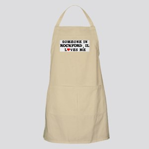 Someone in Rockford BBQ Apron