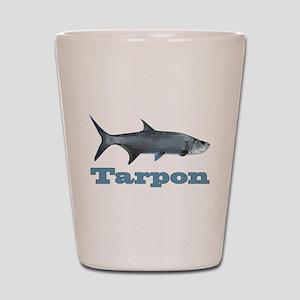 Record Tarpon Shot Glass