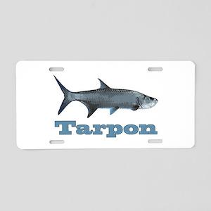 Record Tarpon Aluminum License Plate