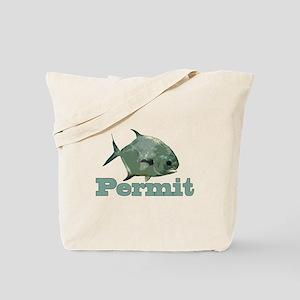 Record Permit Tote Bag