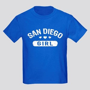 San Diego Girl Kids Dark T-Shirt