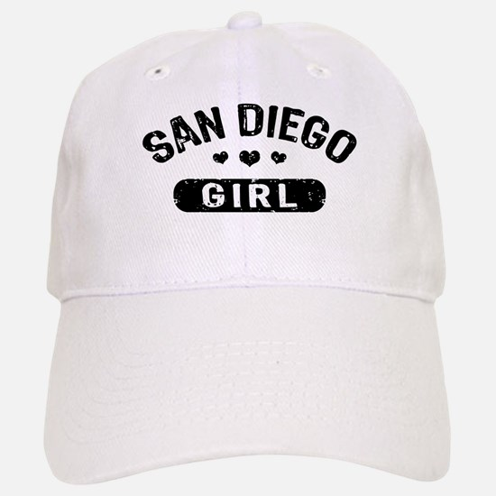 San Diego Girl Baseball Baseball Cap