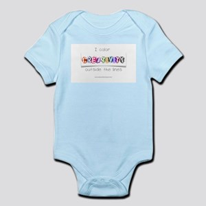Creativity Colors Outside the Lines Infant Bodysui