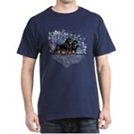Rottweiler (Starry night) Dark-T