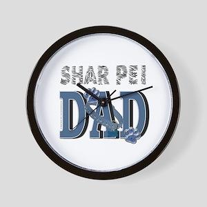 Shar Pei DAD Wall Clock