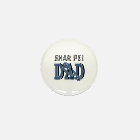 Shar Pei DAD Mini Button