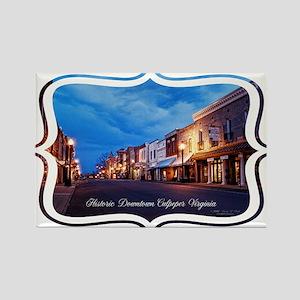 Historic Culpeper, Virginia Rectangle Magnet