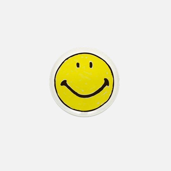 Original Happy Face Mini Button