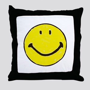 Original Happy Face Throw Pillow