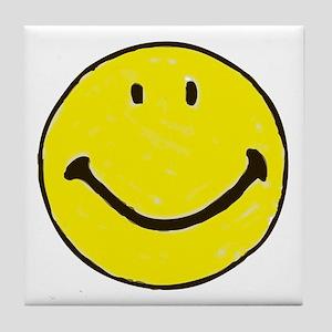 Original Happy Face Tile Coaster