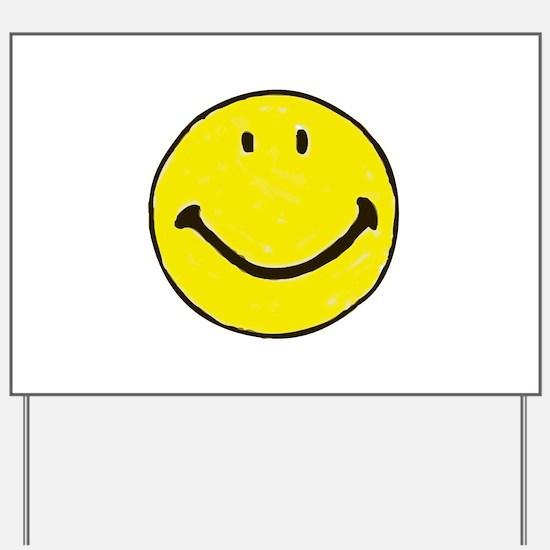 Original Happy Face Yard Sign