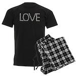 Daisy Love Men's Dark Pajamas