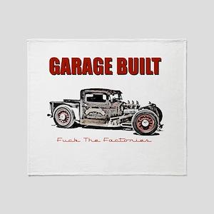Garage Built Throw Blanket