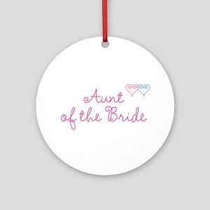 Bride Wedding Set 1 Ornament (Round)