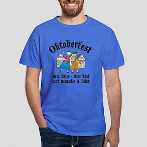 Oktoberfest Can't Remember A Thing Dark T-Shirt