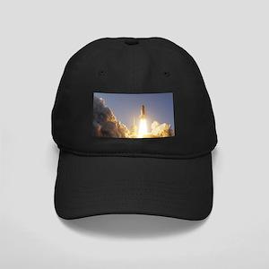 Space Shuttle Aloft Black Cap