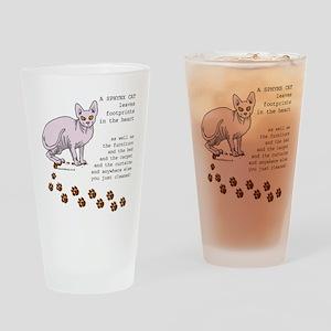 Sphynx Drinking Glass