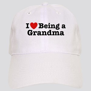 I Love Being a Grandma Cap