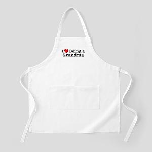 I Love Being a Grandma  BBQ Apron
