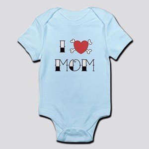 I (Love) heart MOM Infant Bodysuit