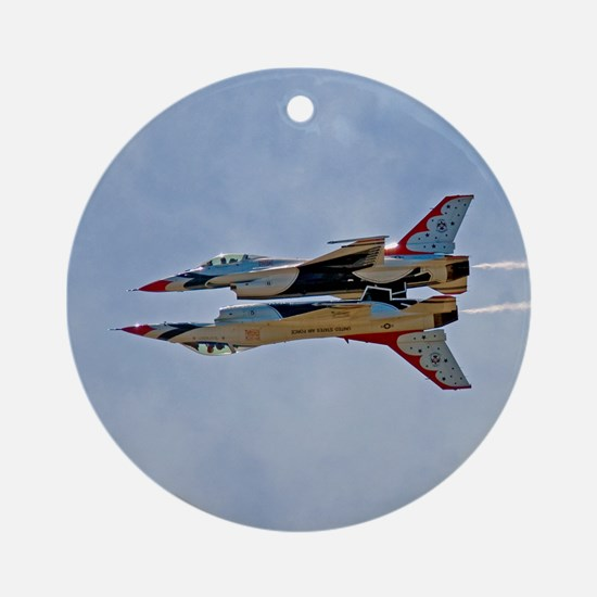 Thunderbirds 5 and 6 Ornament (Round)