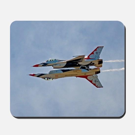 Thunderbirds 5 and 6 Mousepad