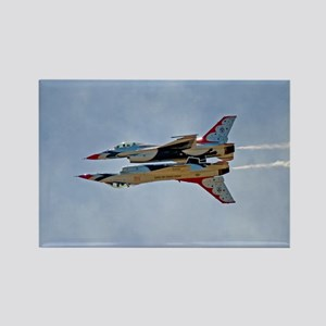 Thunderbirds 5 and 6 Rectangle Magnet