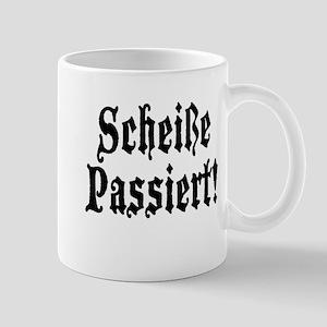 German Scheiße Passiert! Shit Happens Mug