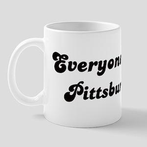 Loves Pittsburgh Girl Mug