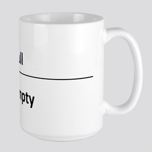 """""""It's your perspective"""" Large Mug"""
