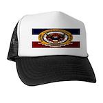Dominican Republic Veteran Trucker Hat