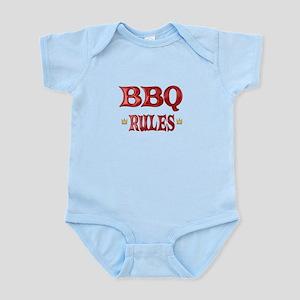 BBQ Rules Infant Bodysuit
