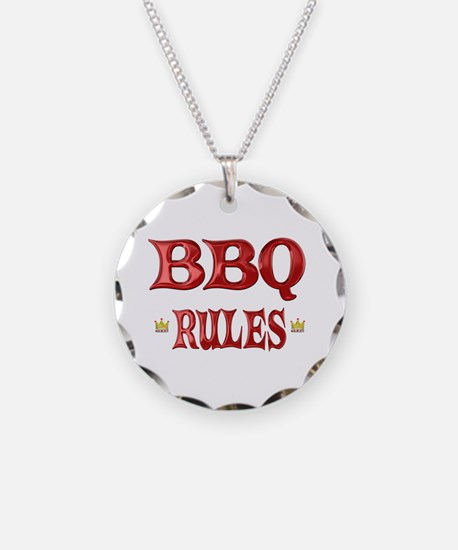 BBQ Rules Necklace