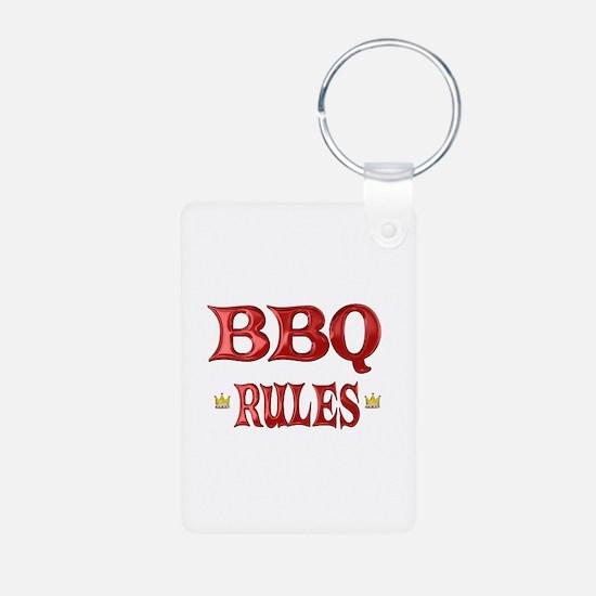 BBQ Rules Keychains