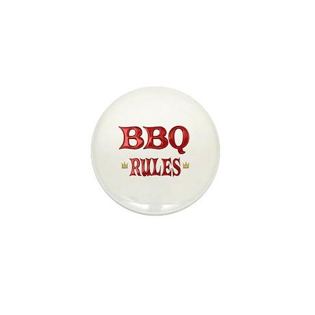 BBQ Rules Mini Button