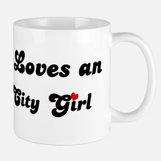 Loves Oklahoma City Girl Mug