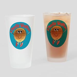 Charlie Waffles Drinking Glass