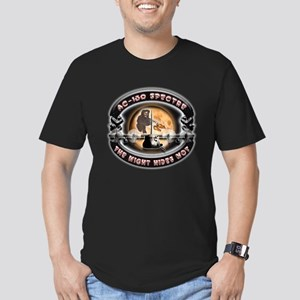 USAF AC-130 Spectre The Night Men's Fitted T-Shirt