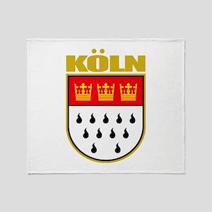 Koln/Cologne Throw Blanket